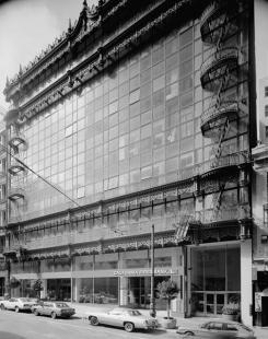Image 5: Hallidie Building, San Francisco. Built circa 1917. Architect, Willis Polk.