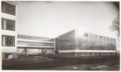 Image 6: Bauhaus building (Workshop) in Dessau. Built circa 1926. Architect, Walter Gropius.